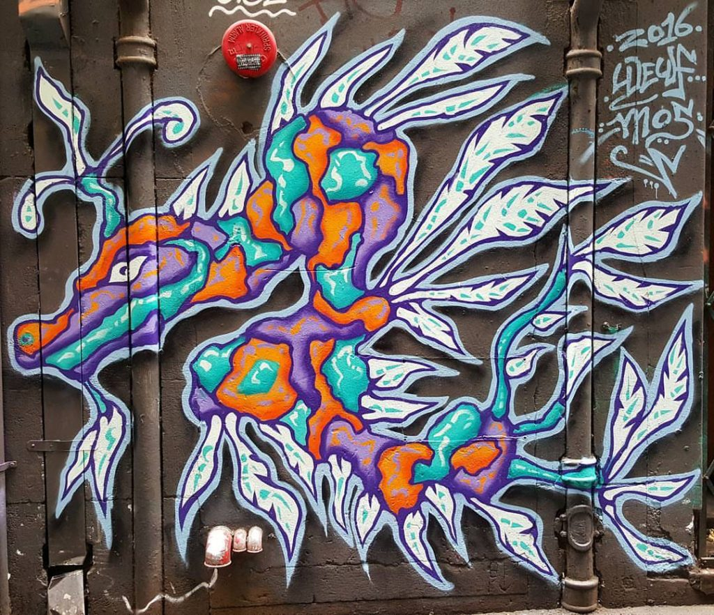 Piece by Facter at the Meeting of Styles 2016