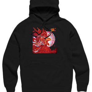 hoodies-black-rooster